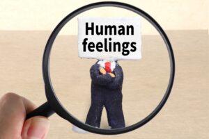 人間の感じ方